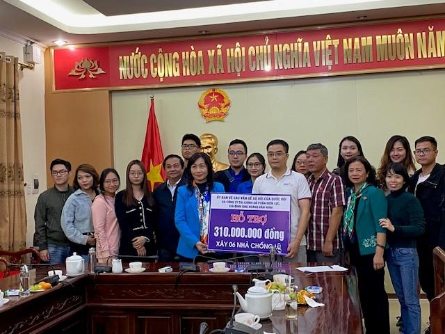 EVNFinance chung tay ủng hộ đồng bào lũ lụt miền Trung